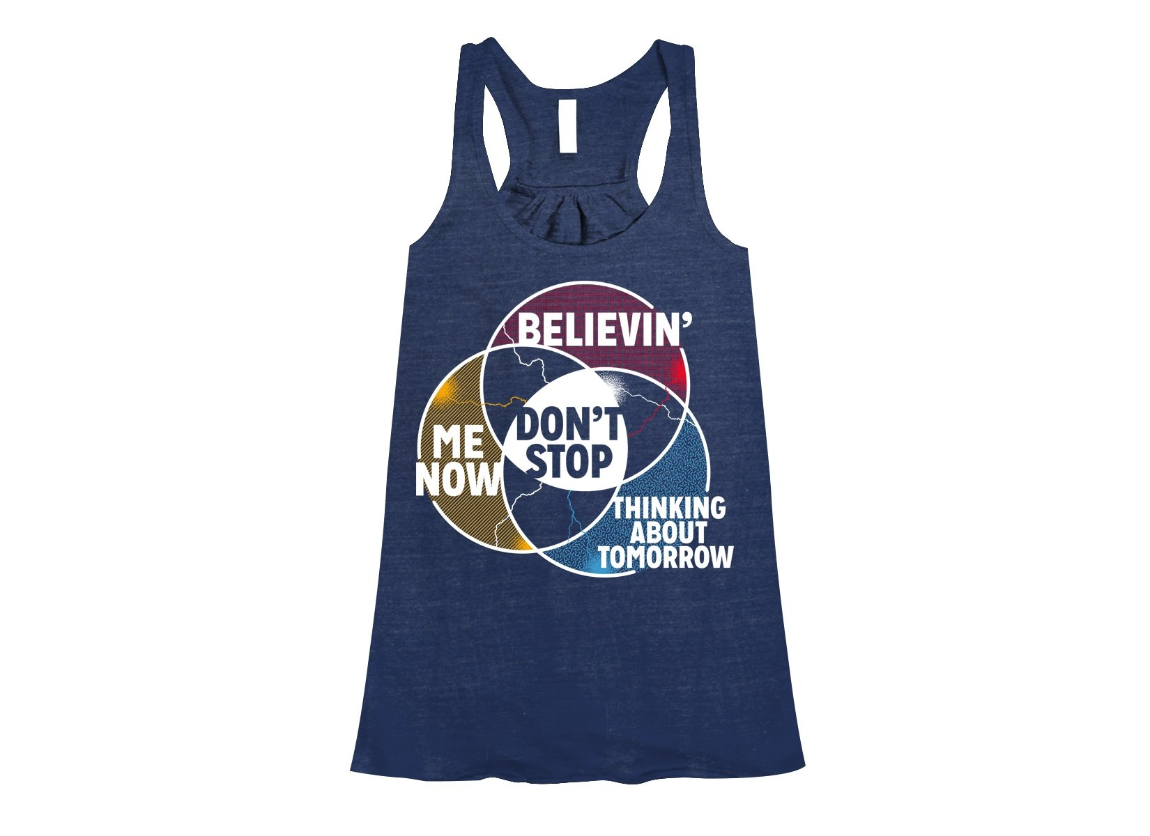 Don't Stop Venn Diagram on Womens Tanks T-Shirt