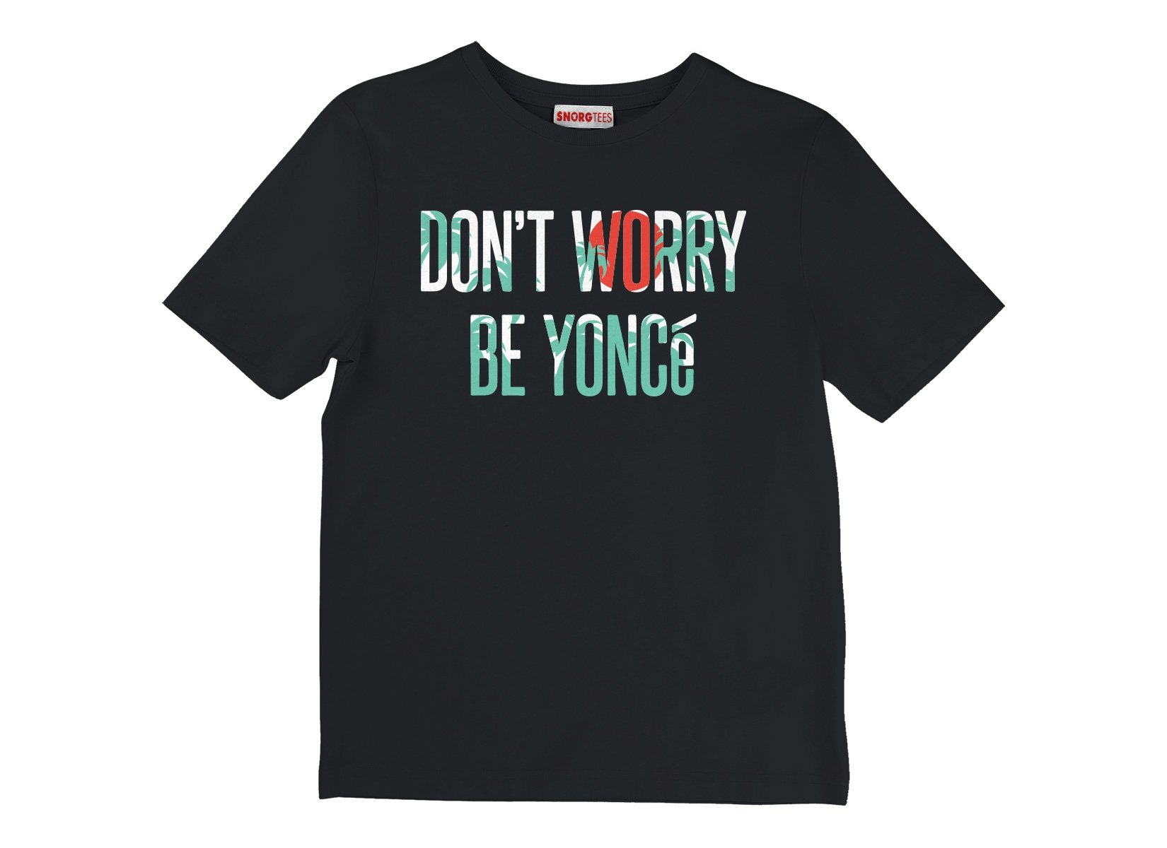 Don't Worry Be Yonce on Kids T-Shirt