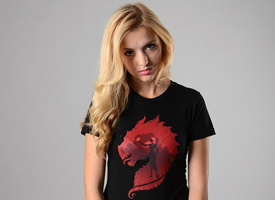 The Dragon on Juniors T-Shirt