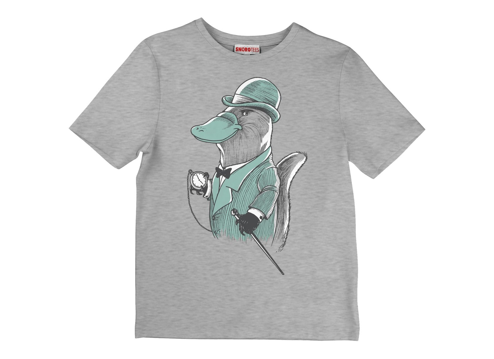 Duke Platypus on Kids T-Shirt