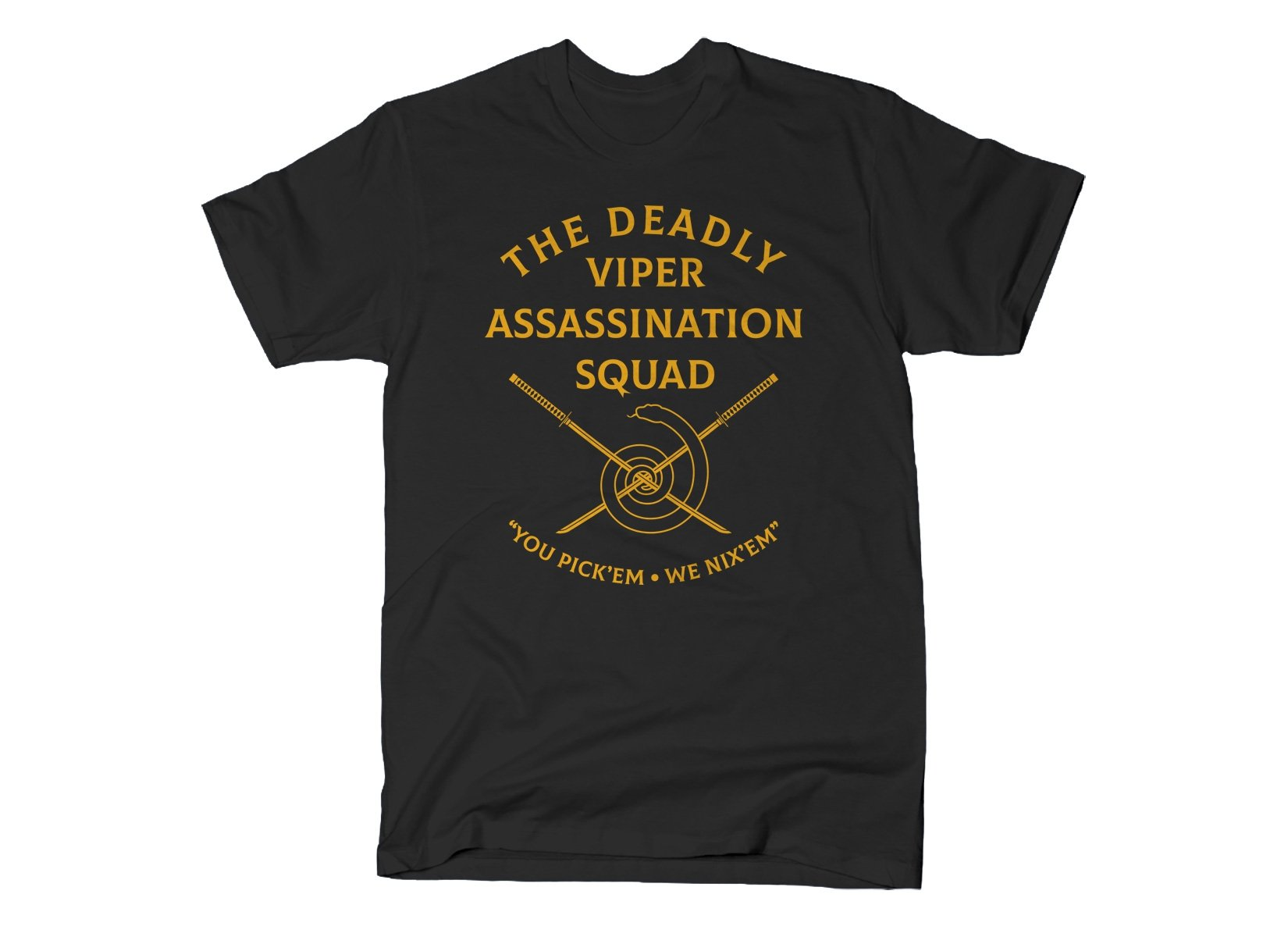 The DVAS on Mens T-Shirt