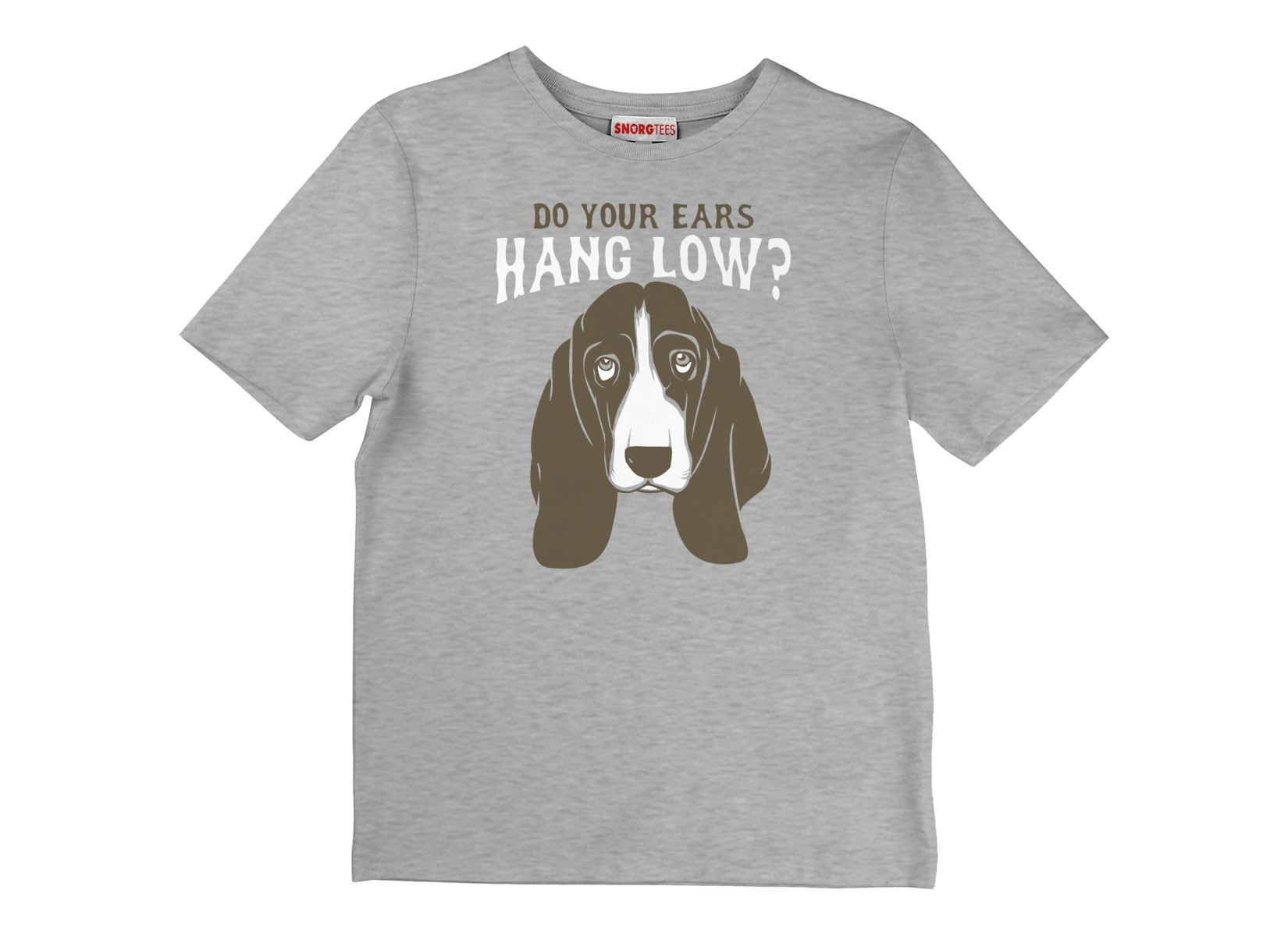 Do Your Ears Hang Low? on Kids T-Shirt