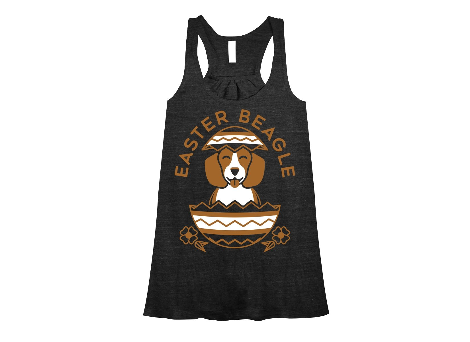Easter Beagle on Womens Tanks T-Shirt