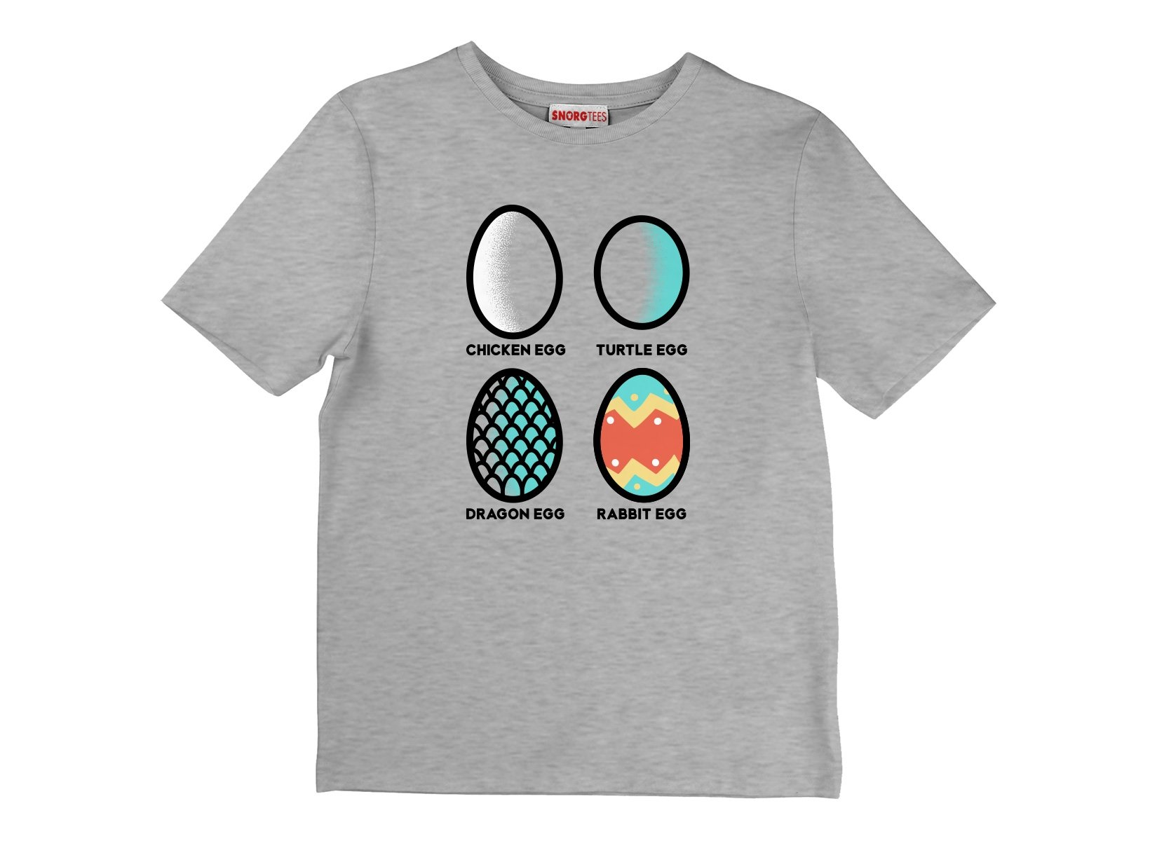 Rabbit Egg on Kids T-Shirt