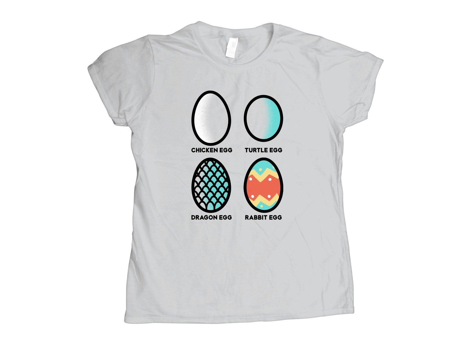Rabbit Egg on Womens T-Shirt