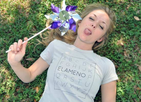 Elameno on Juniors T-Shirt