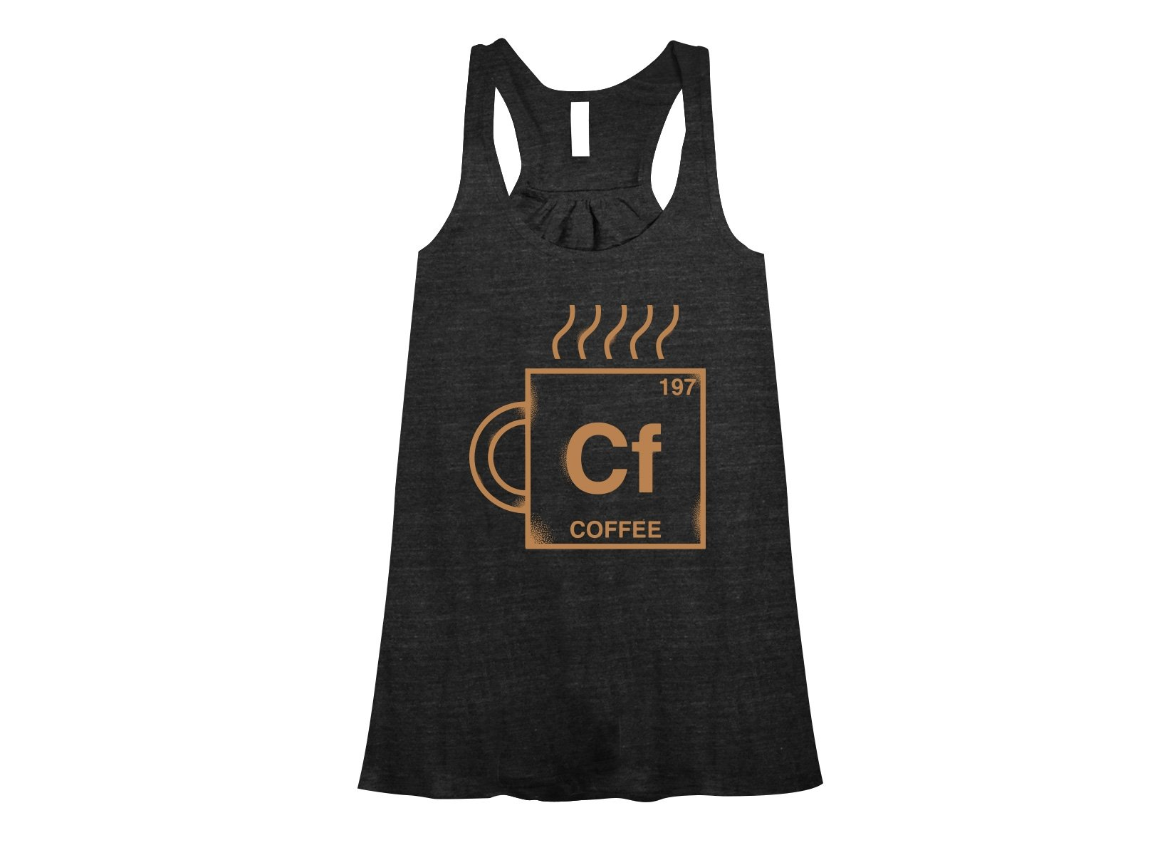 Coffee Element on Womens Tanks T-Shirt