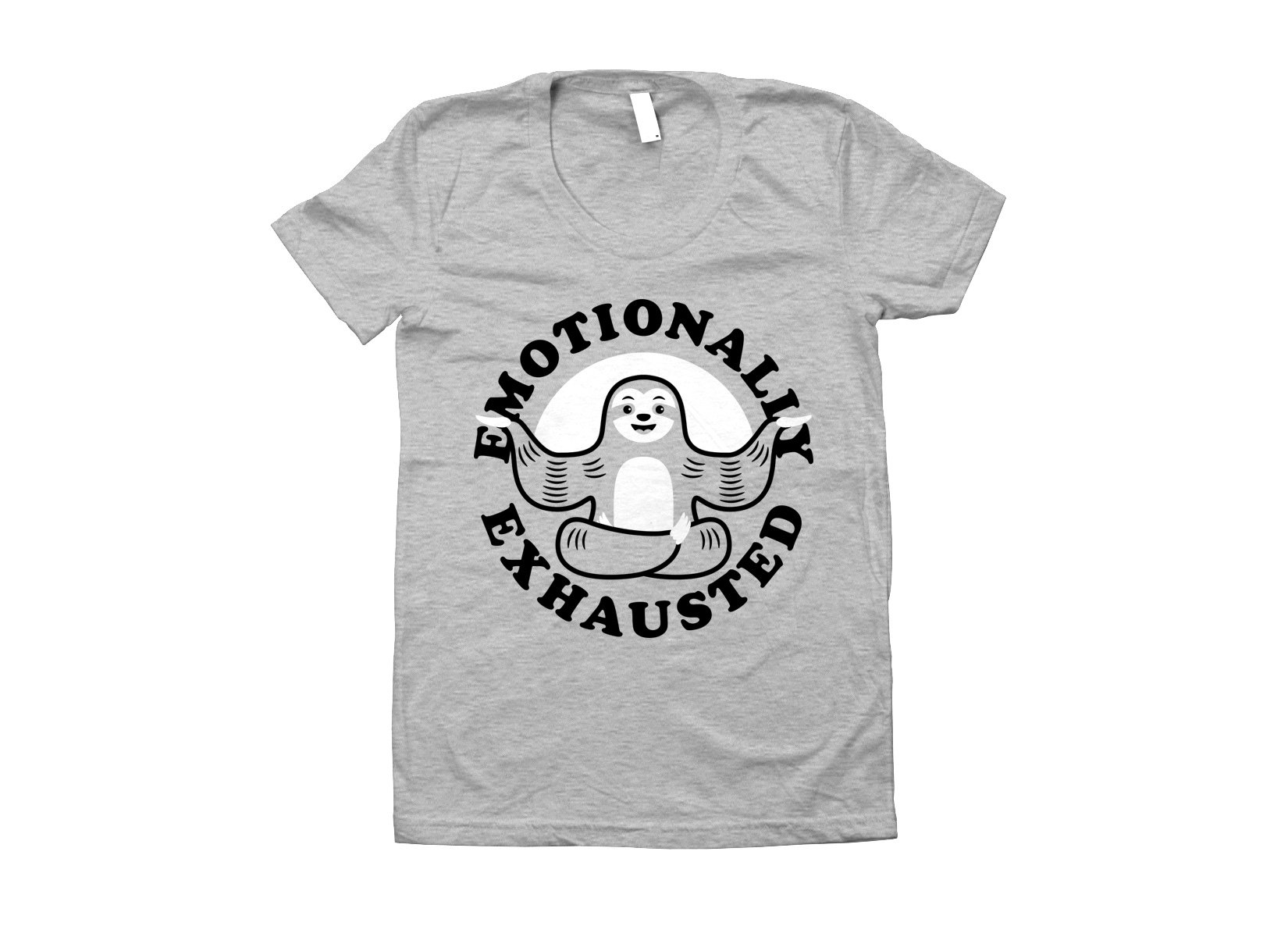 Emotionally Exhausted on Juniors T-Shirt
