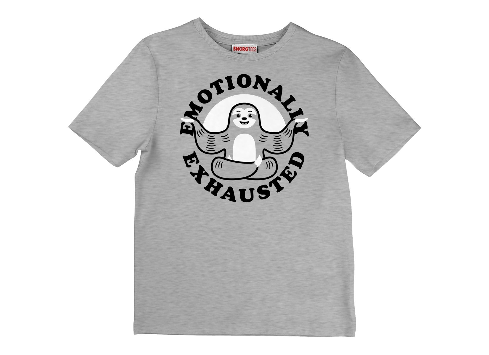 Emotionally Exhausted on Kids T-Shirt