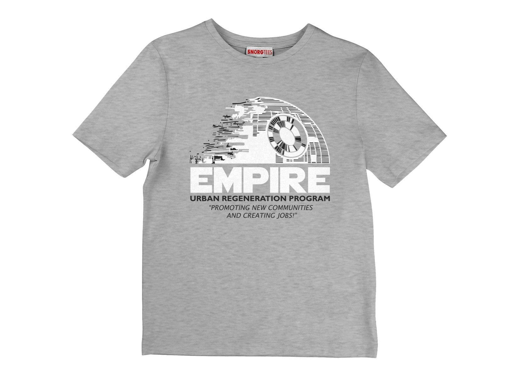 Empire Urban Regeneration on Kids T-Shirt