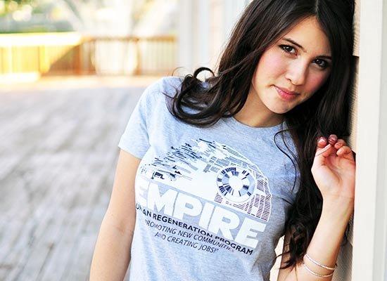 Empire Urban Regeneration on Juniors T-Shirt