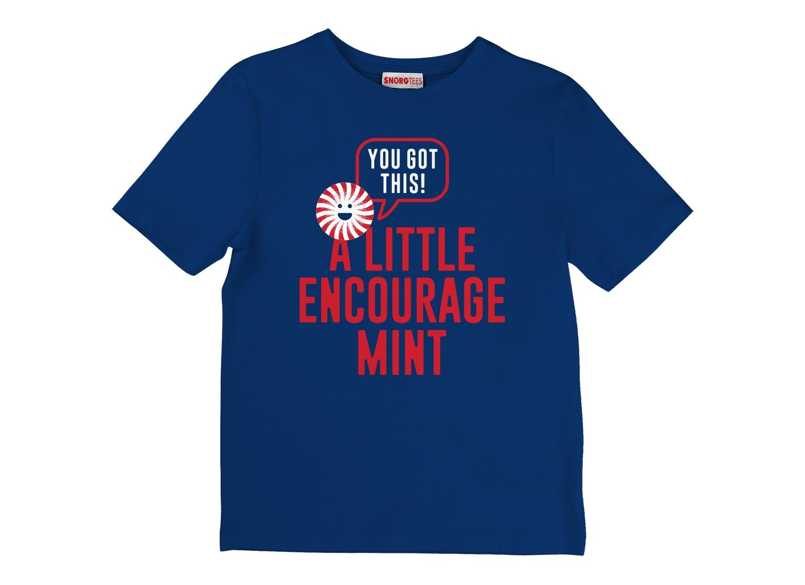 A Little Encourage Mint on Kids T-Shirt