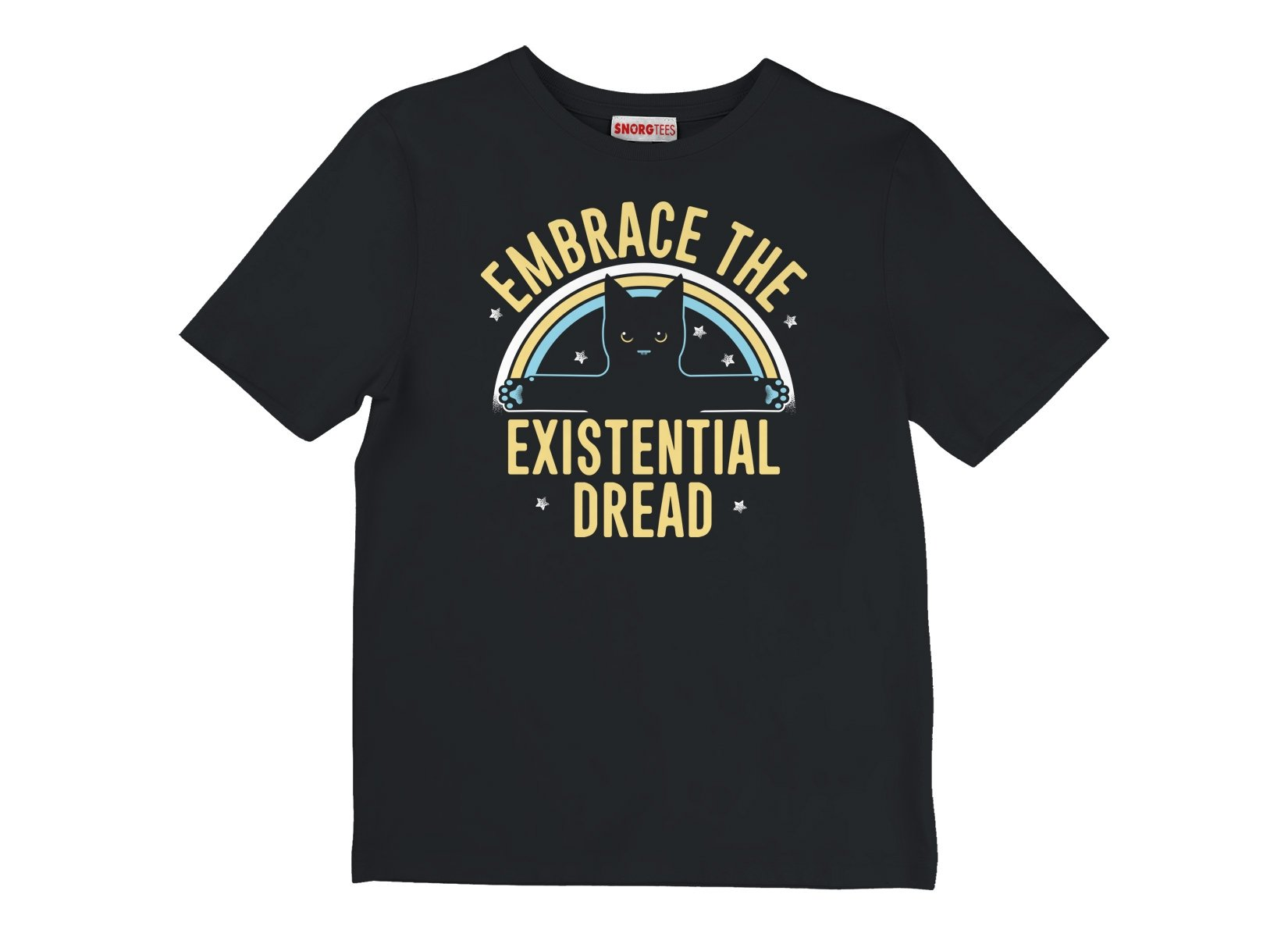 Embrace The Existential Dread on Kids T-Shirt