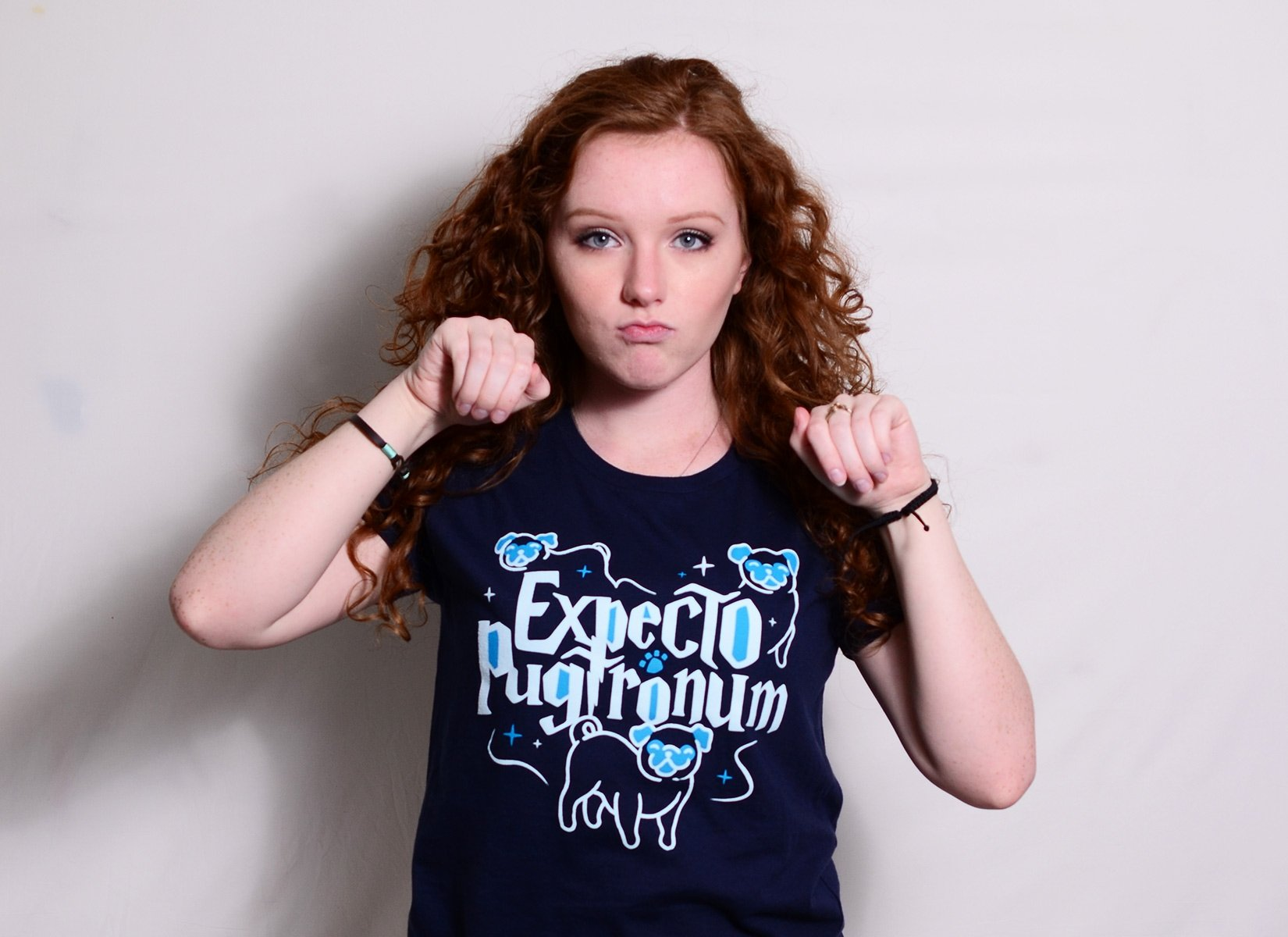 Expecto Pugtronum on Womens T-Shirt