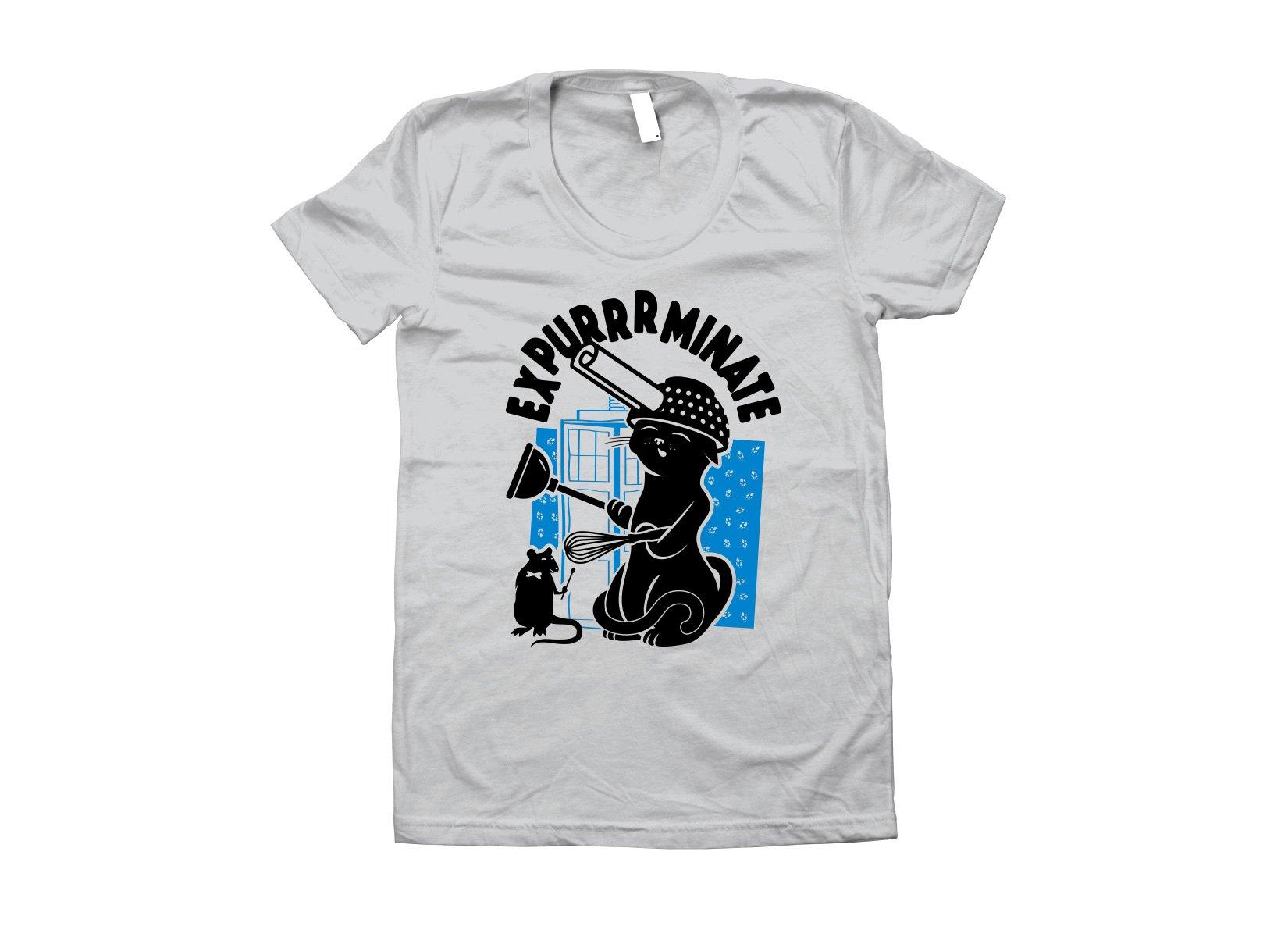 Expurrrminate on Juniors T-Shirt