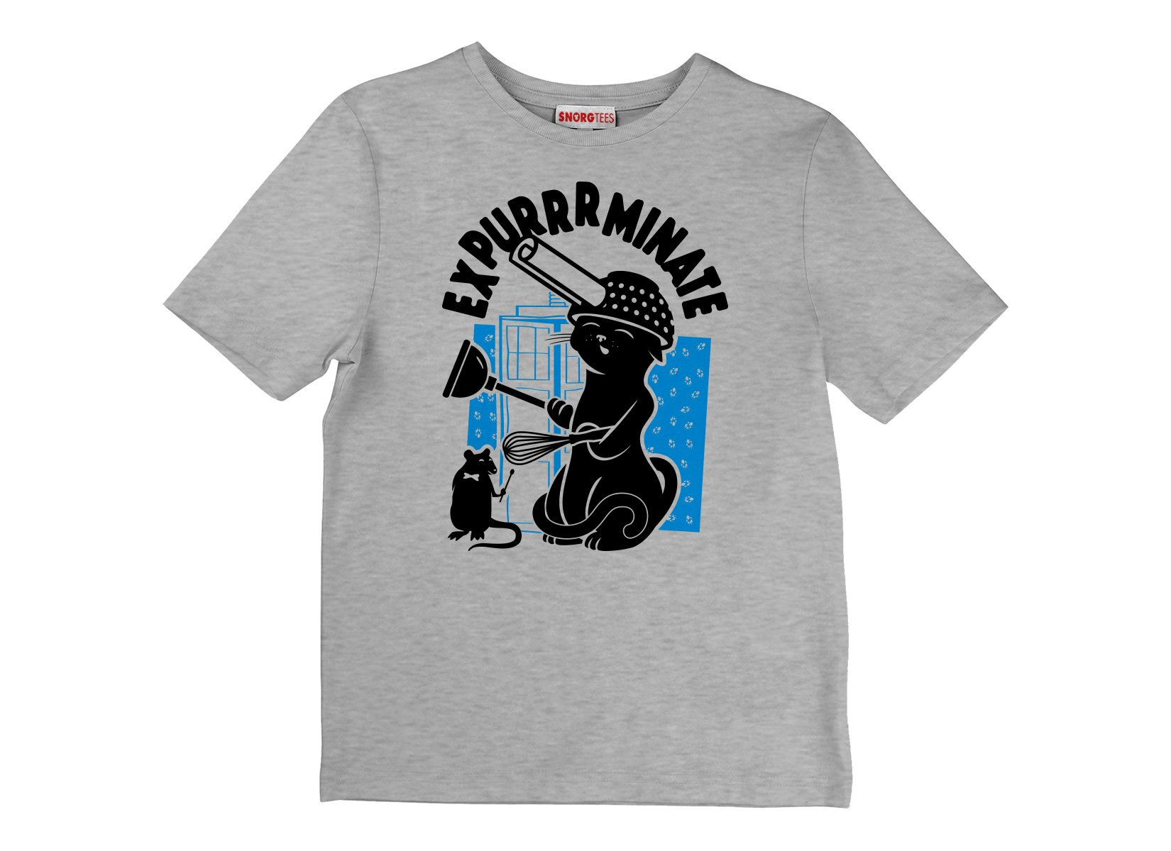Expurrrminate on Kids T-Shirt