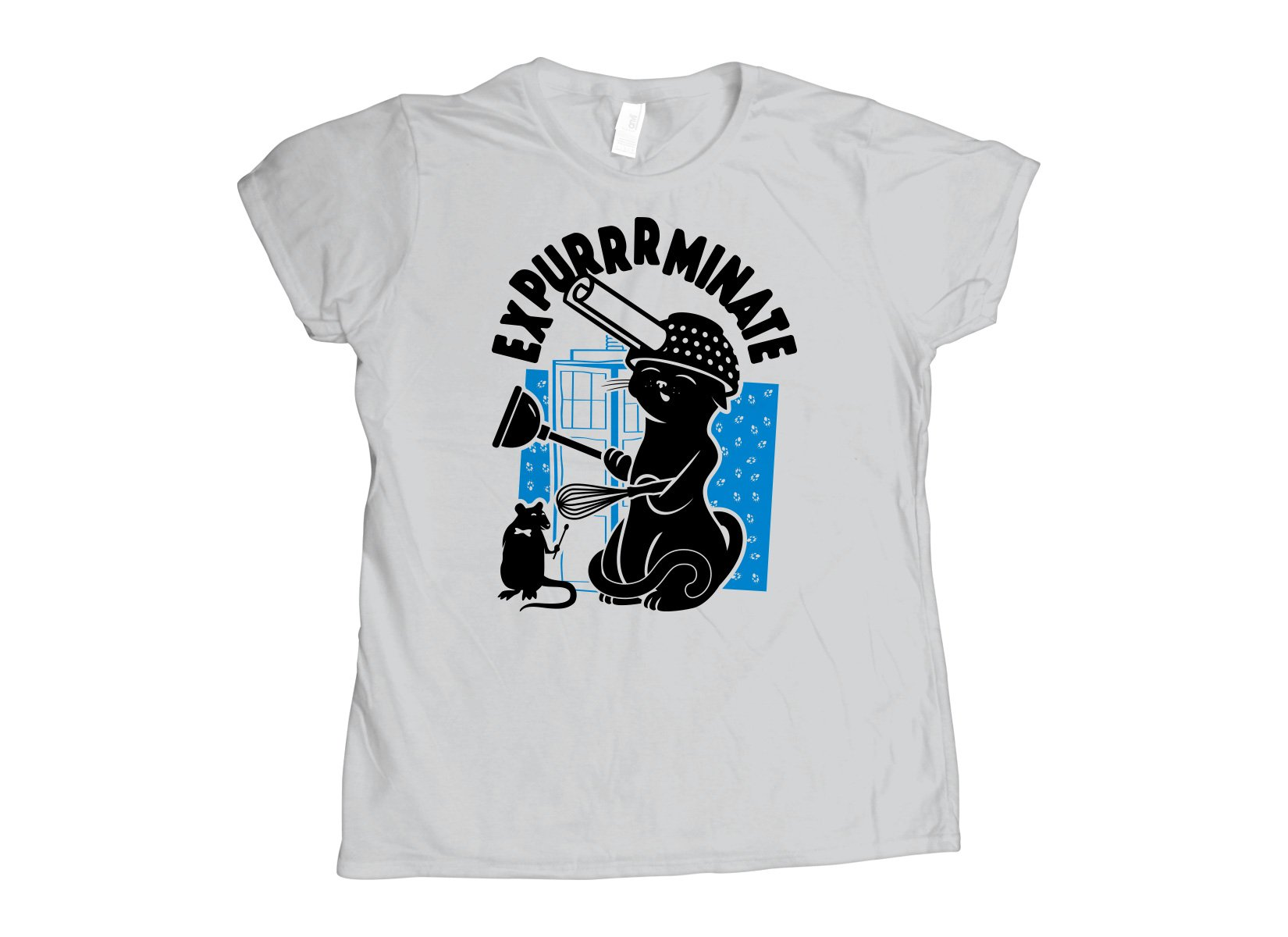 Expurrrminate on Womens T-Shirt