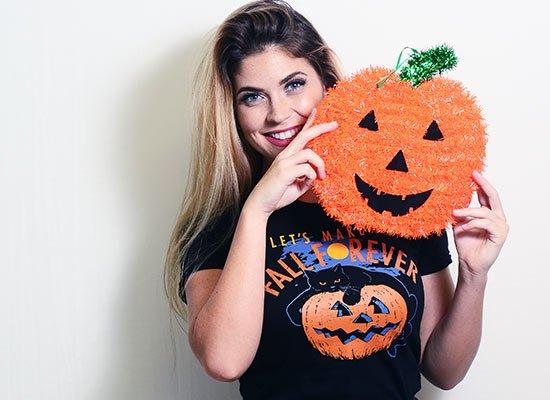 Fall Forever on Juniors T-Shirt