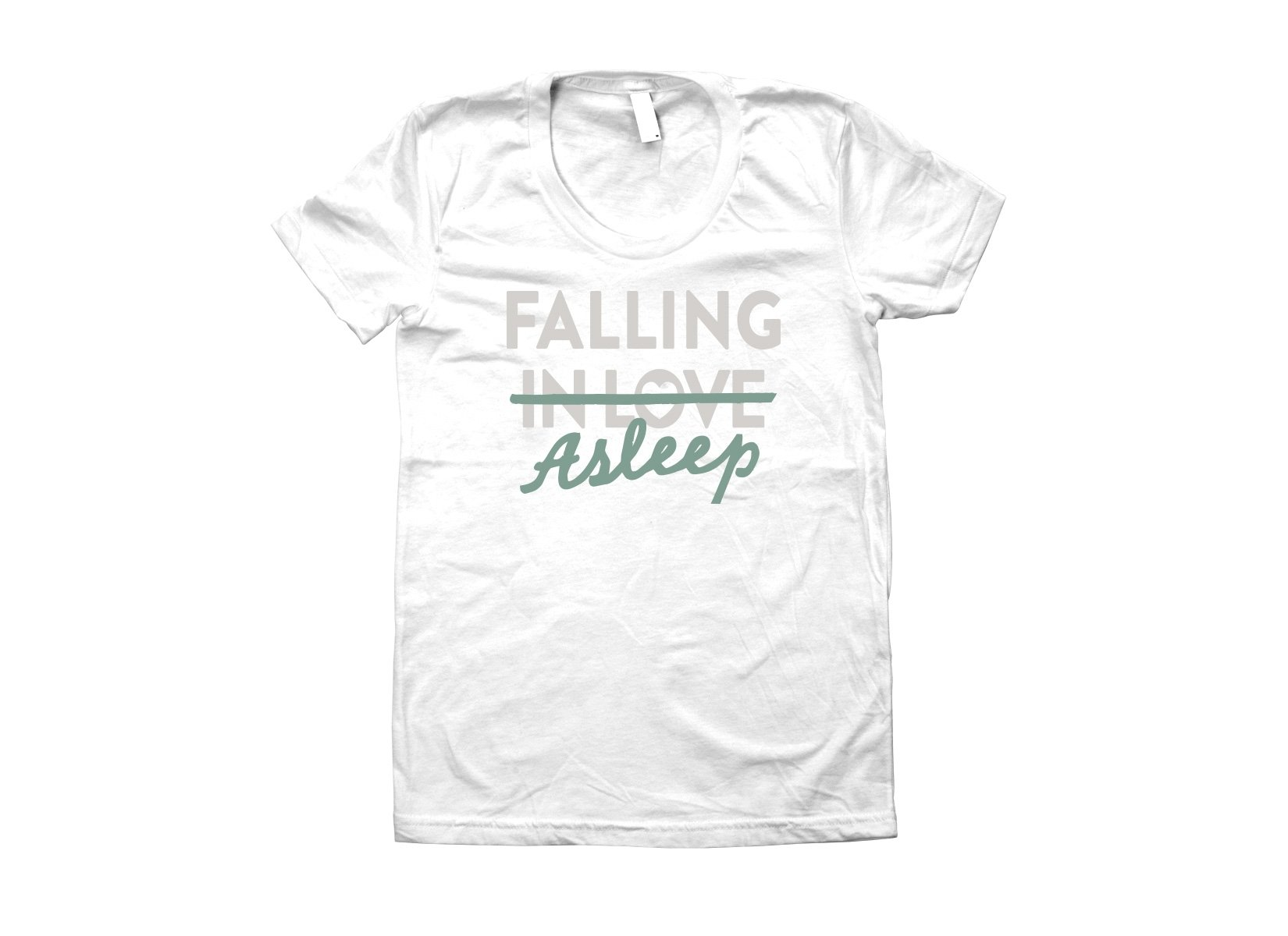 Falling Asleep on Juniors T-Shirt