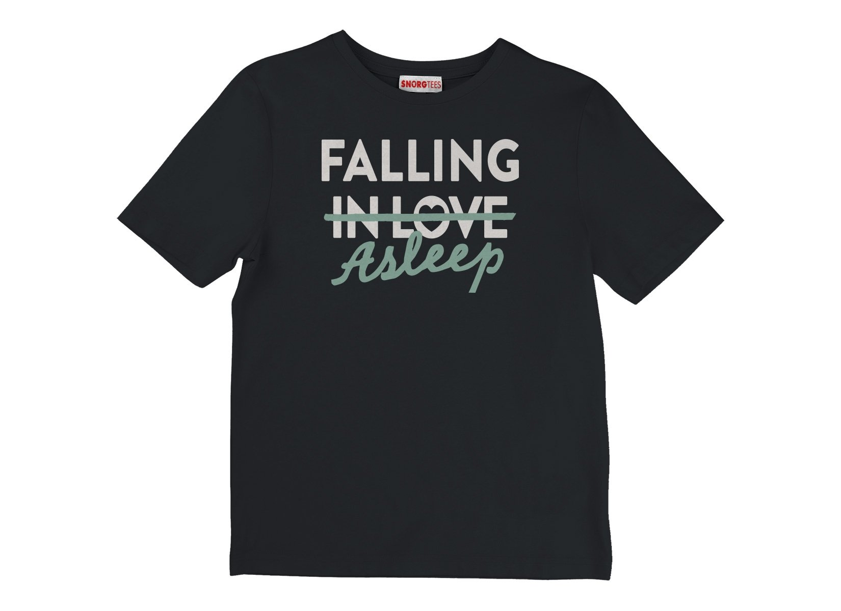 Falling Asleep on Kids T-Shirt