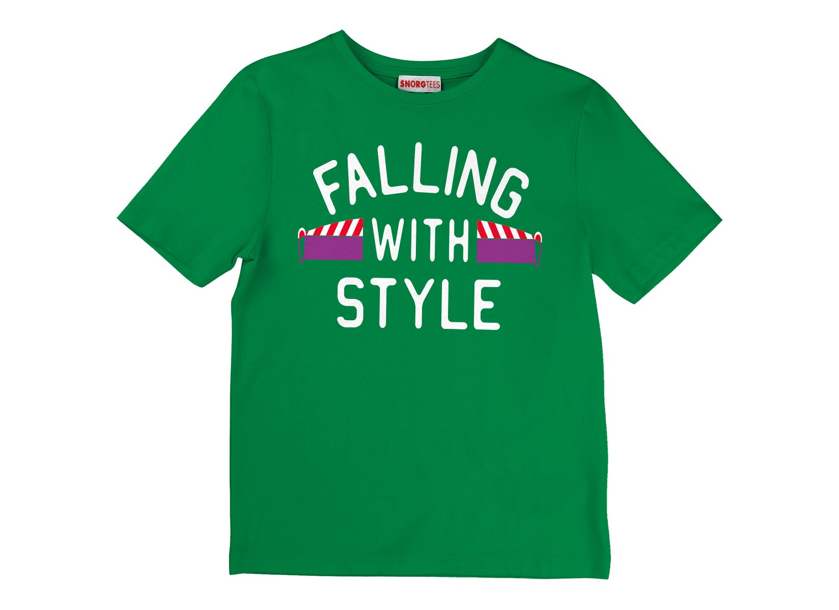 Falling With Style on Kids T-Shirt