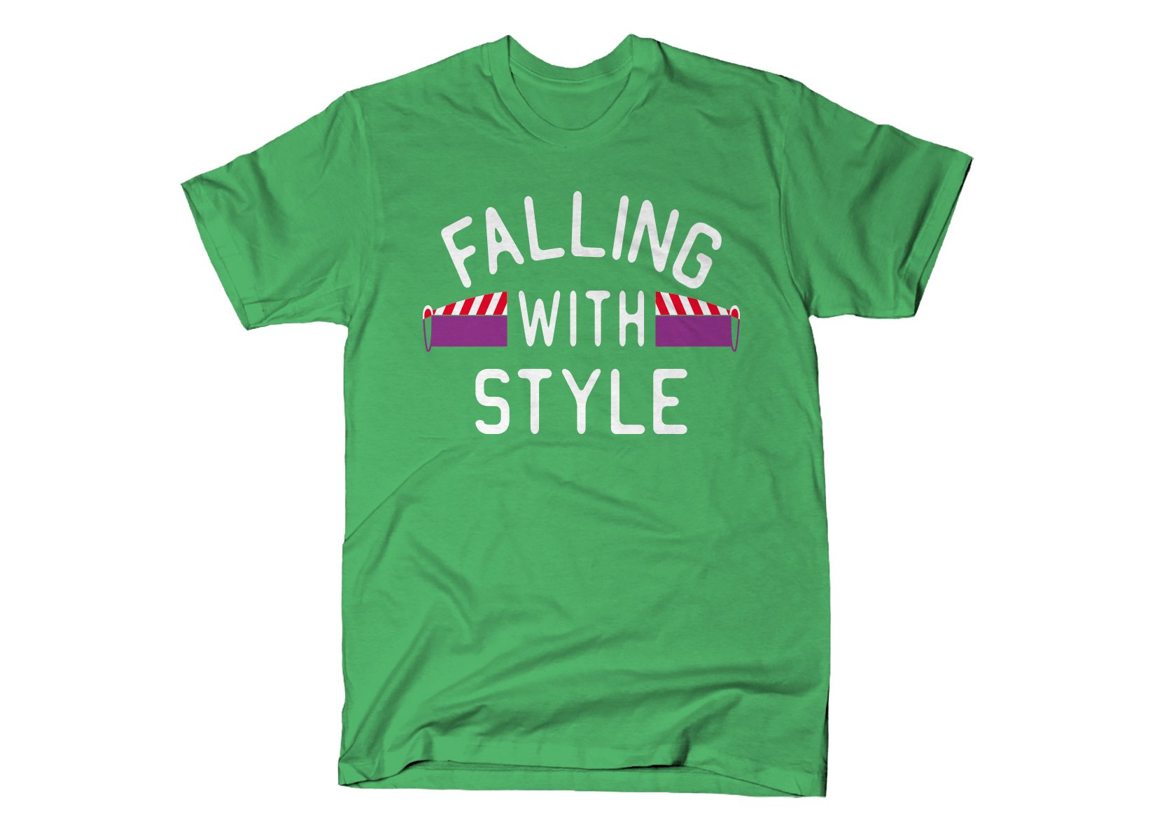 Falling With Style on Mens T-Shirt