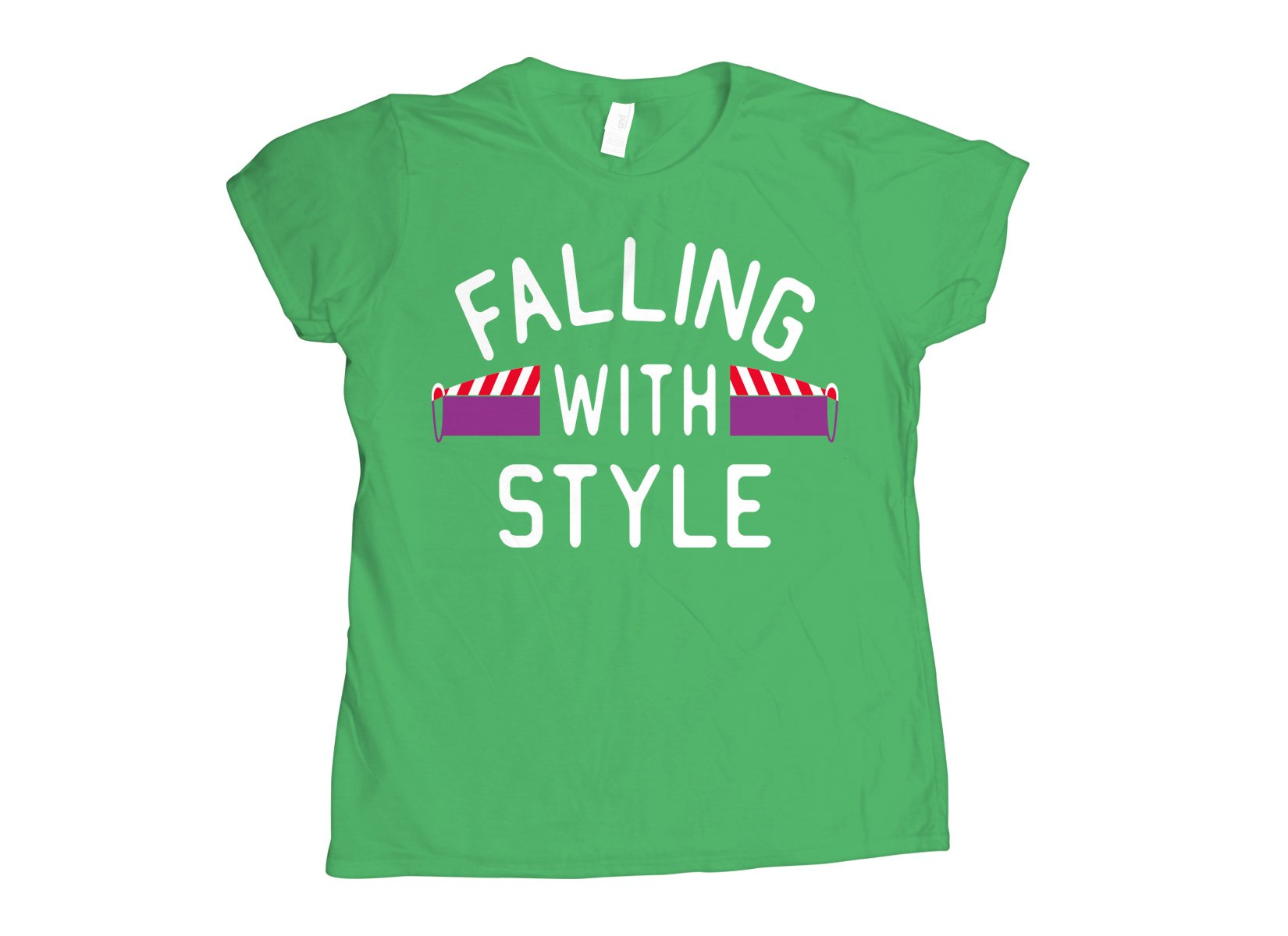 Falling With Style on Womens T-Shirt