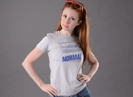Fear Of Clowns: Normal on Juniors T-Shirt