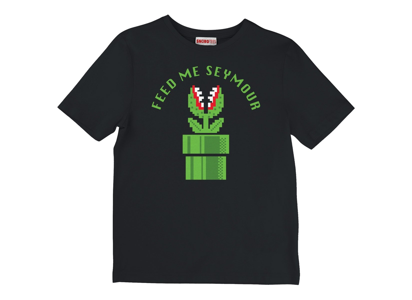 Feed Me Seymour on Kids T-Shirt