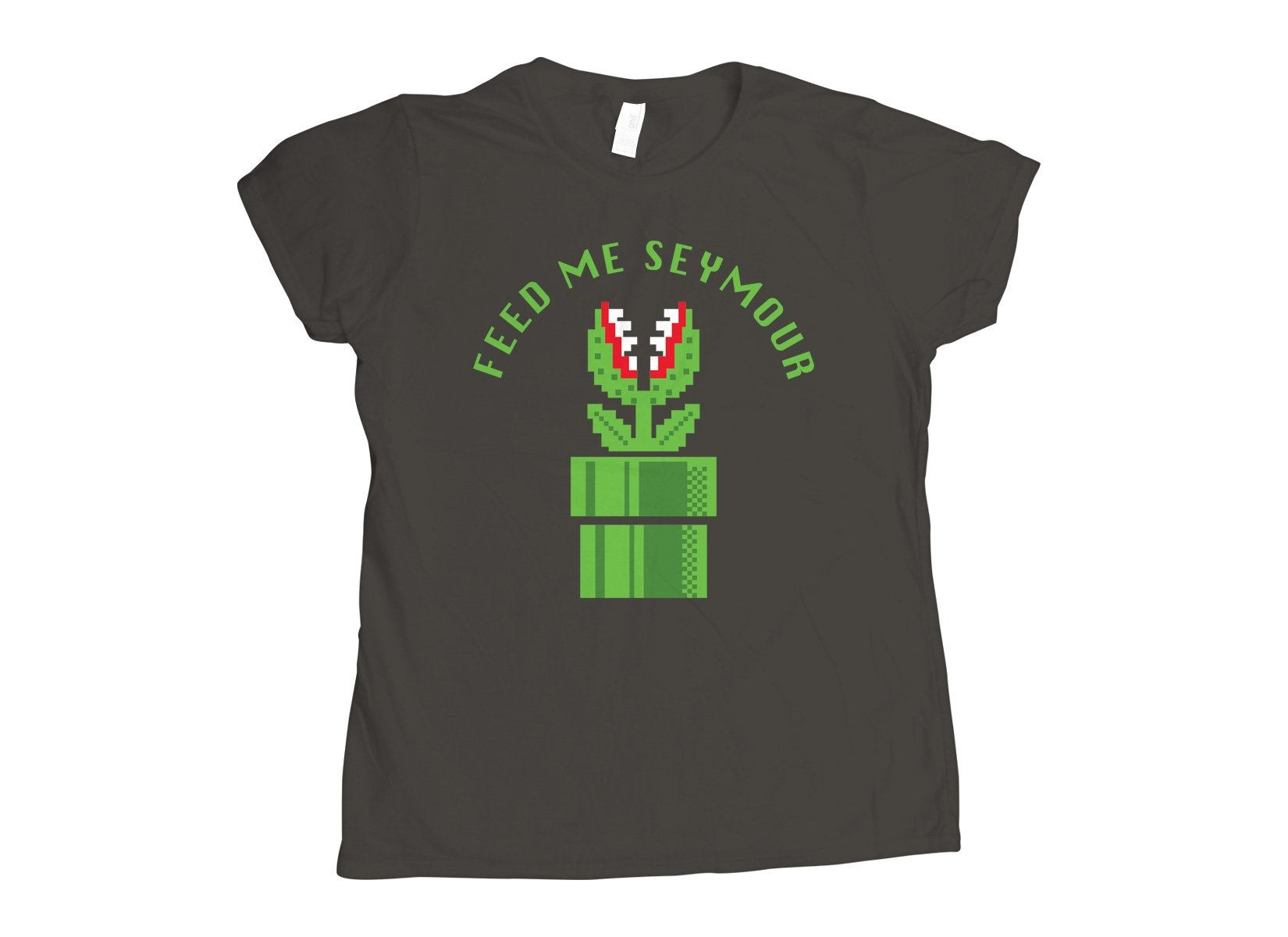 Feed Me Seymour on Womens T-Shirt