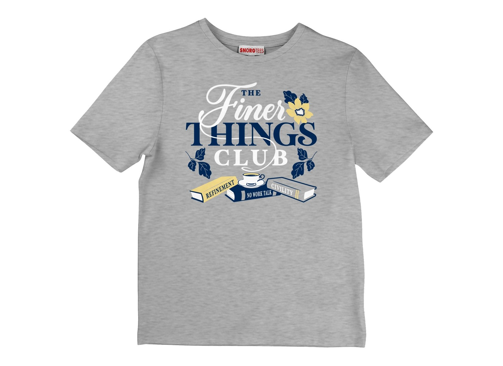 The Finer Things Club on Kids T-Shirt