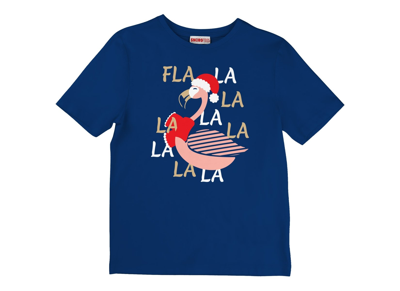 Fla La La Lamingo on Kids T-Shirt
