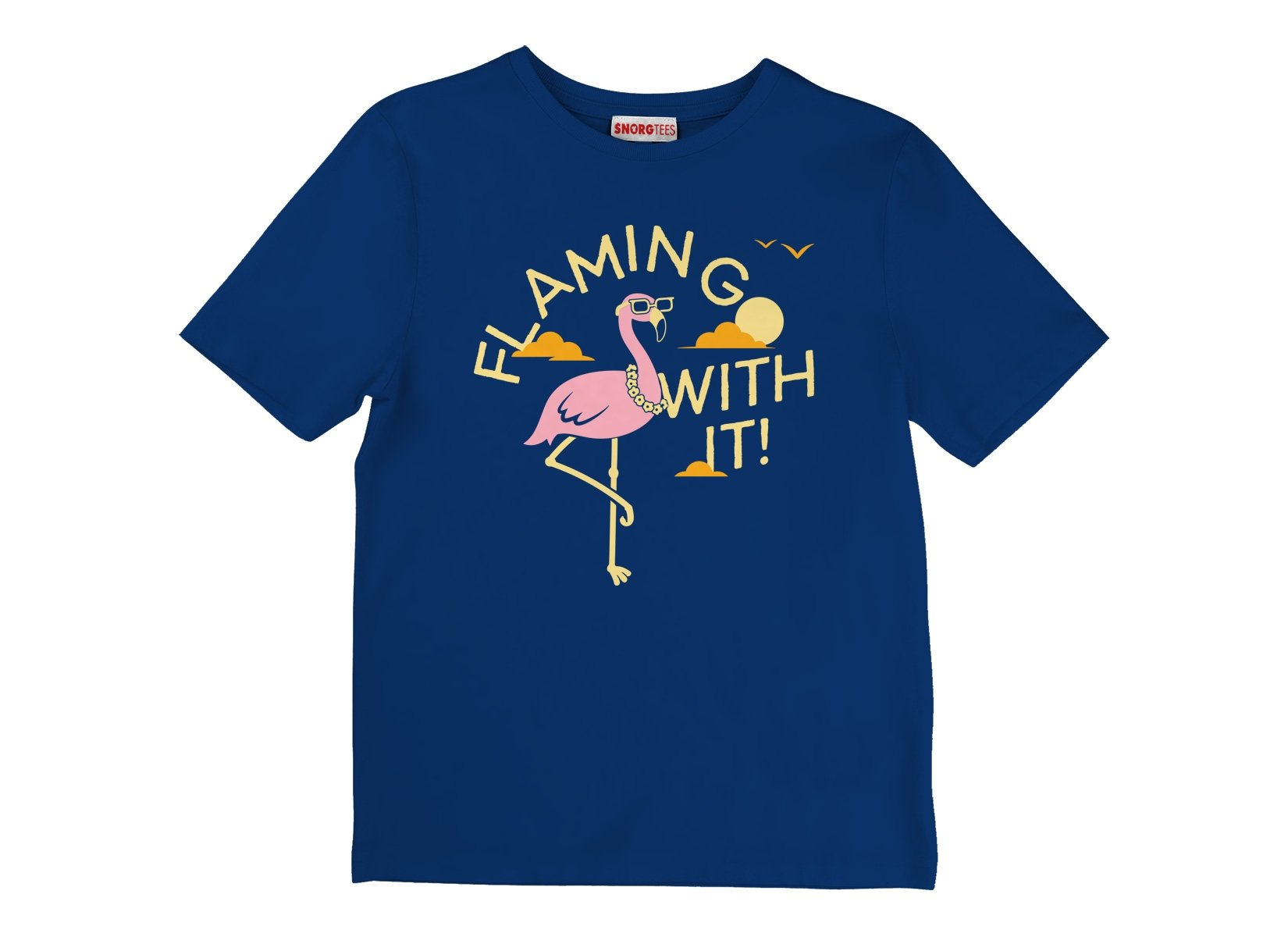 Flamingo With It on Kids T-Shirt
