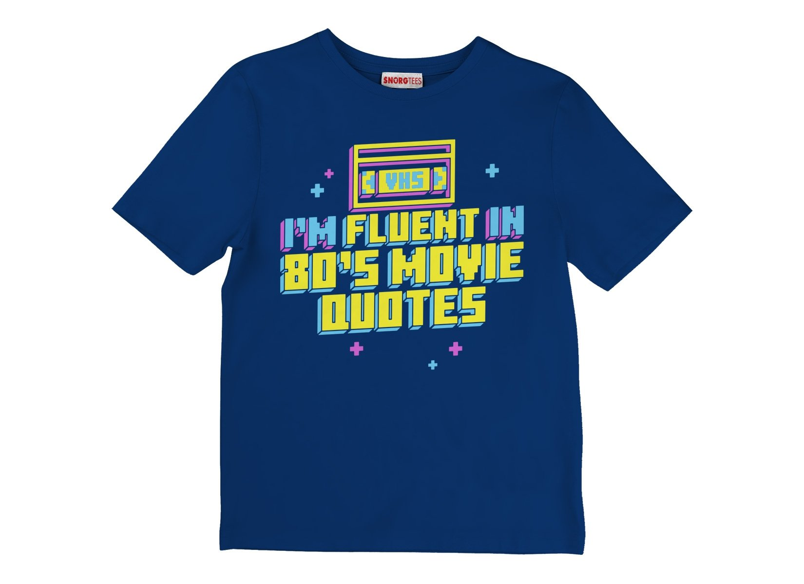 I'm Fluent In 80's Movie Quotes on Kids T-Shirt