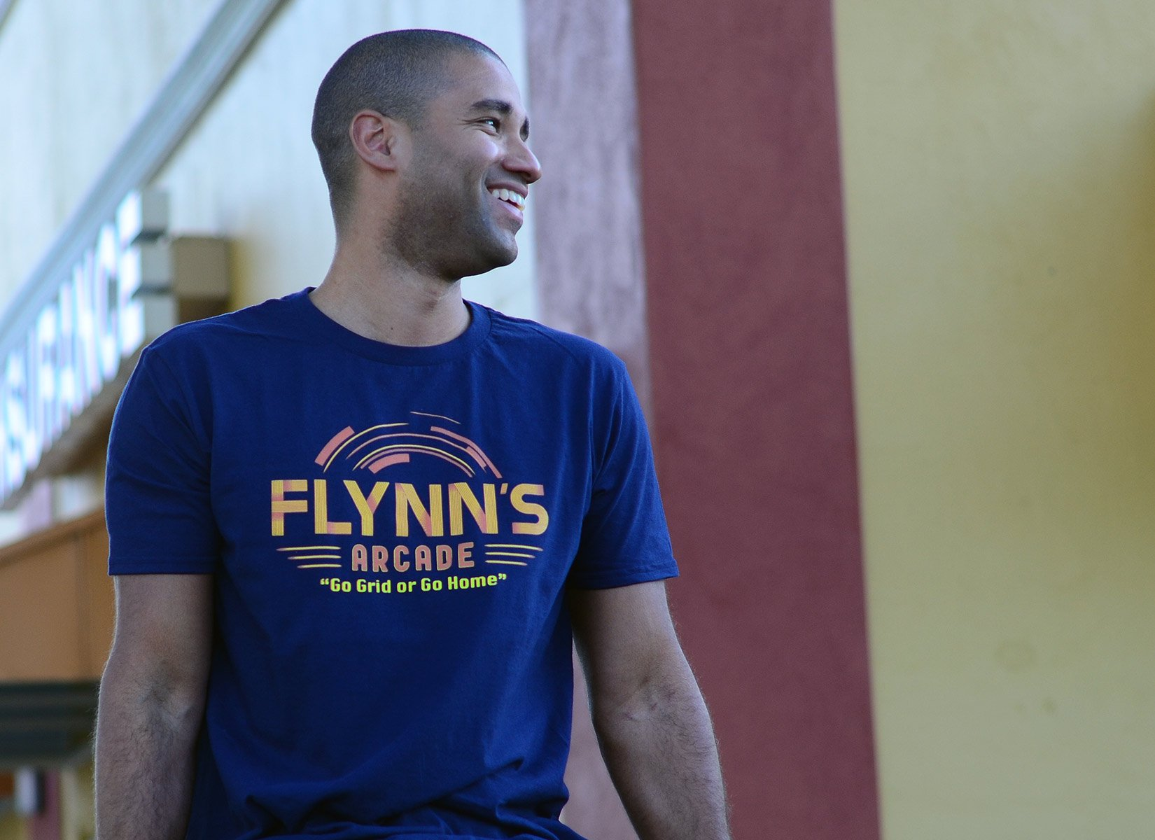 Flynn's Arcade on Mens T-Shirt
