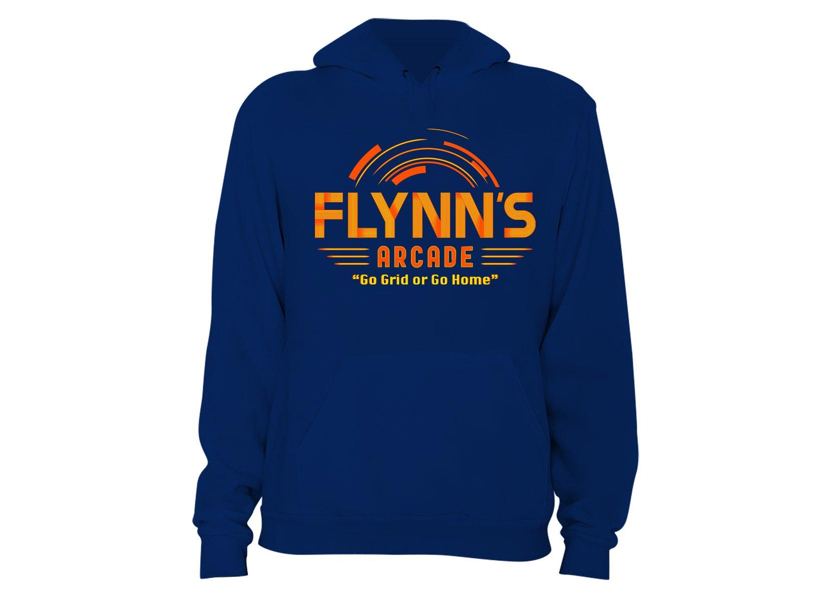 Flynn's Arcade on Hoodie