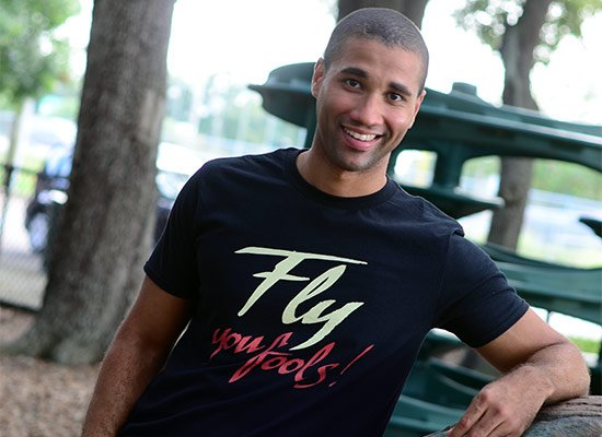 Fly You Fools! on Mens T-Shirt