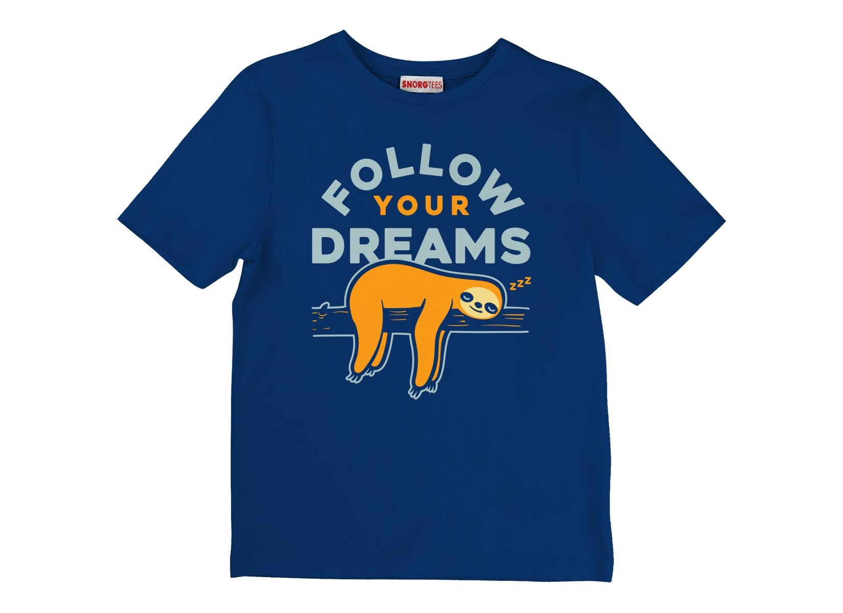 Follow Your Dreams on Kids T-Shirt