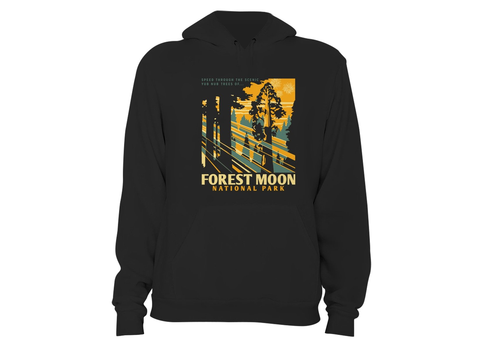 Forest Moon National Park on Hoodie