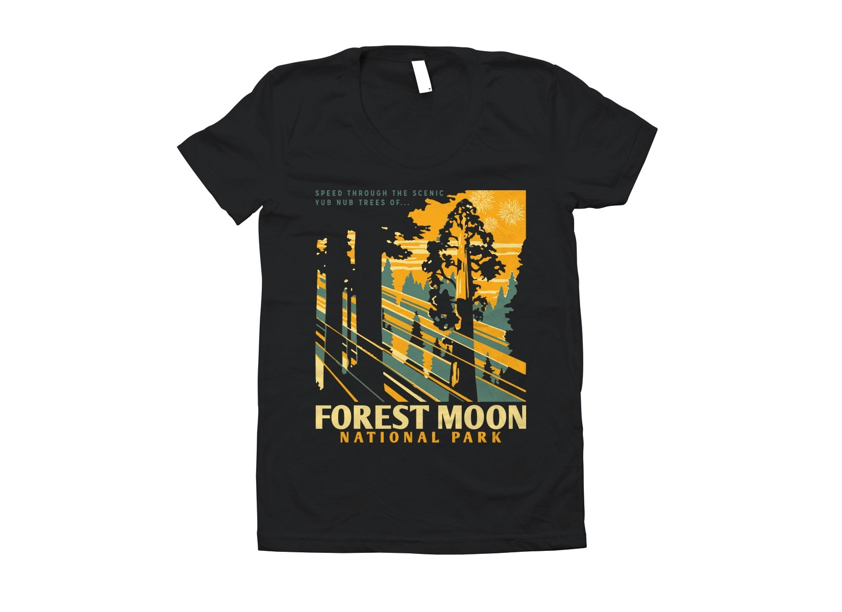 Forest Moon National Park on Juniors T-Shirt