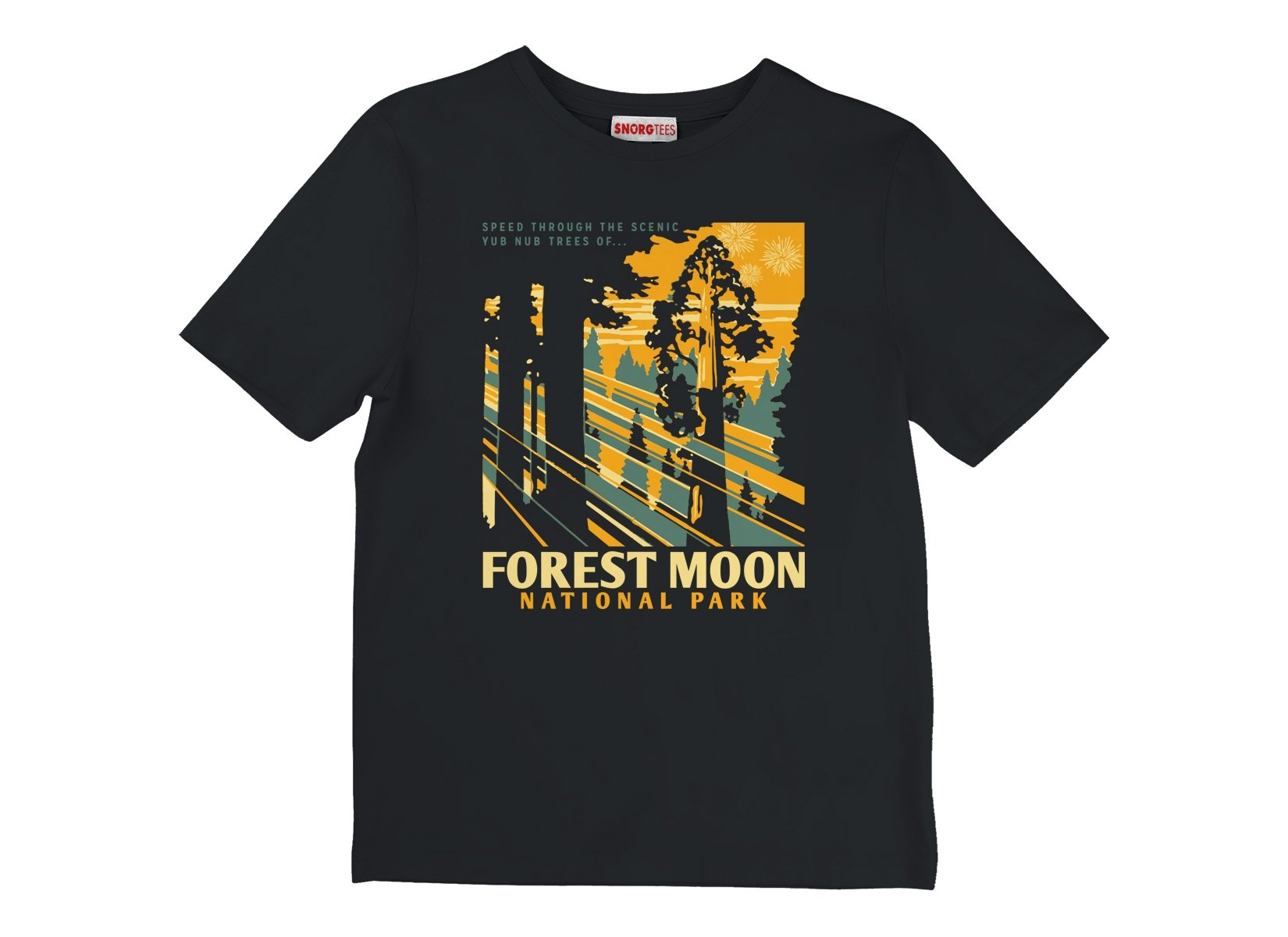 Forest Moon National Park on Kids T-Shirt
