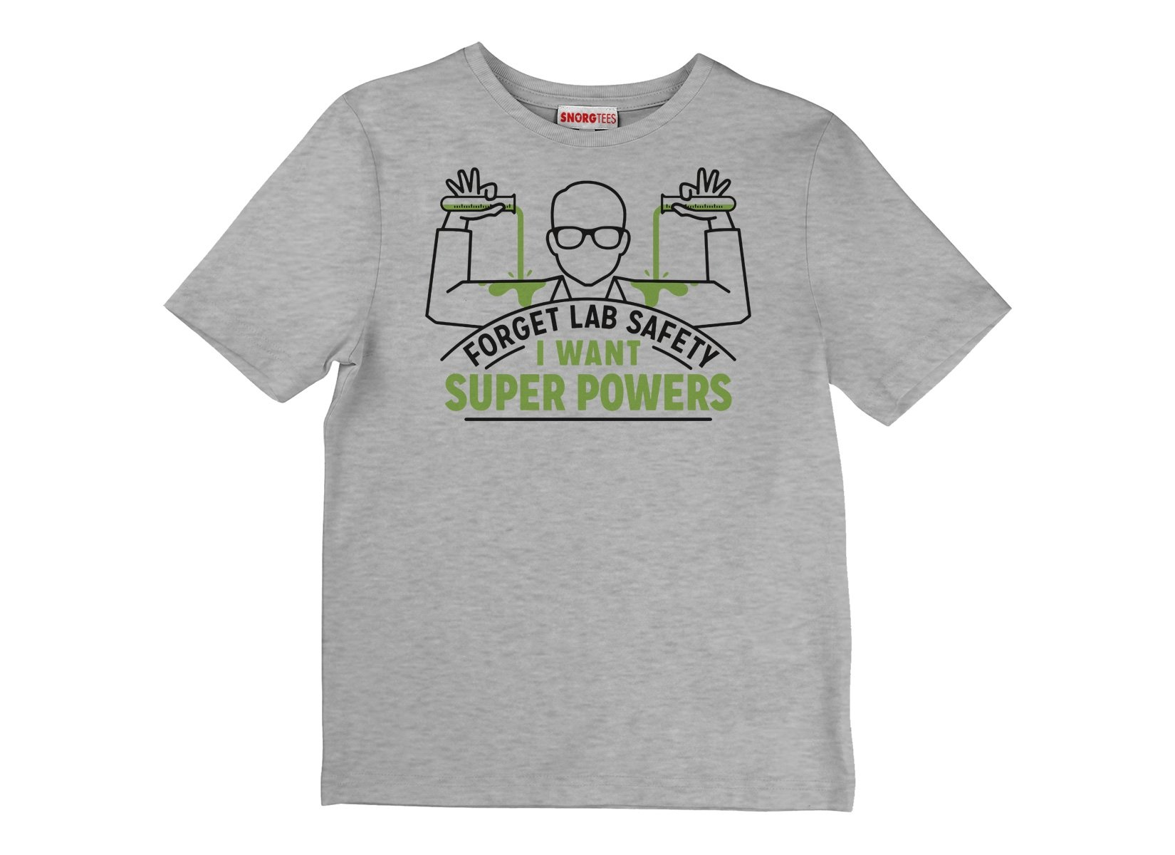 Forget Lab Safety on Kids T-Shirt