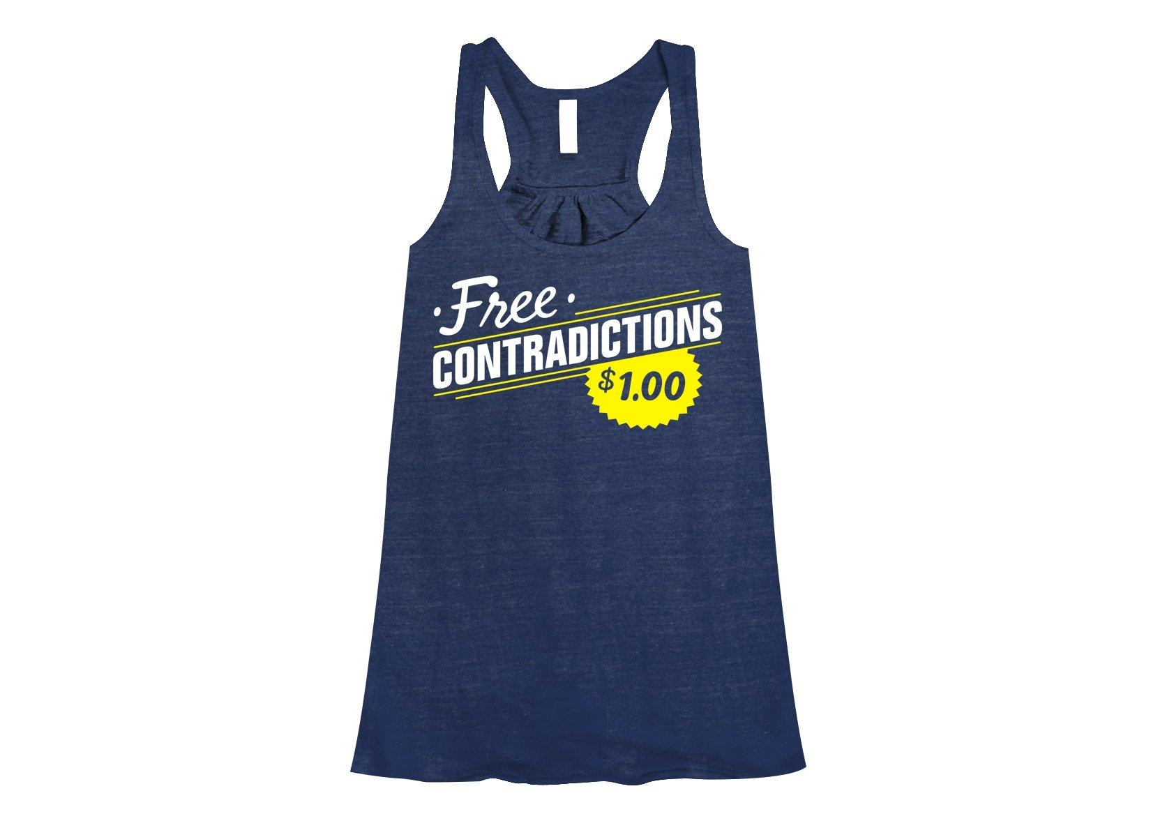 Free Contradictions on Womens Tanks T-Shirt