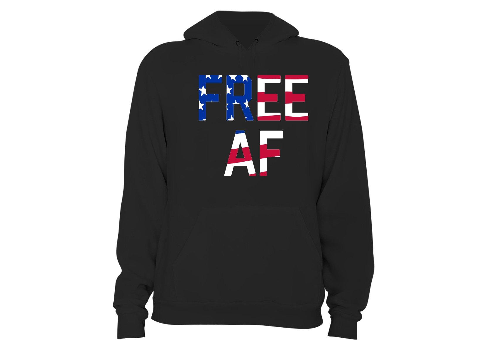 Free AF on Hoodie