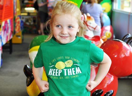 If Life Gives You Lemons on Kids T-Shirt