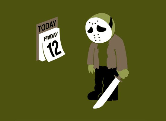 Friday the 12th on Mens T-Shirt
