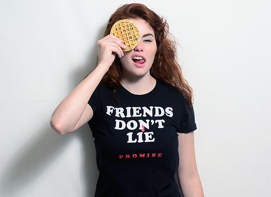 Friends Don't Lie on Juniors T-Shirt