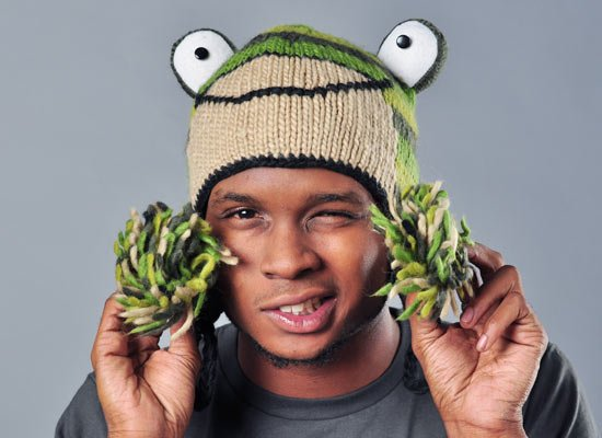 Fernie The Frog Hat on Mens Hats