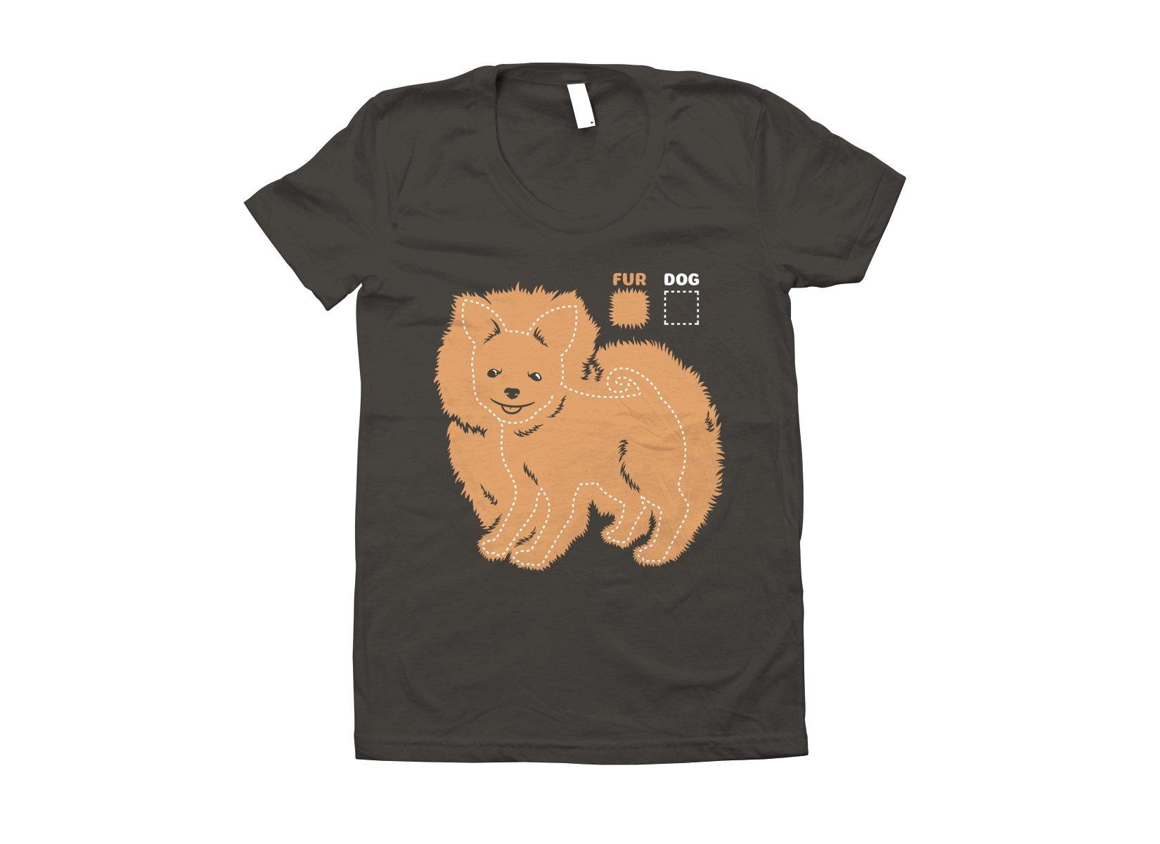 Dog vs Fur Pomeranian on Juniors T-Shirt