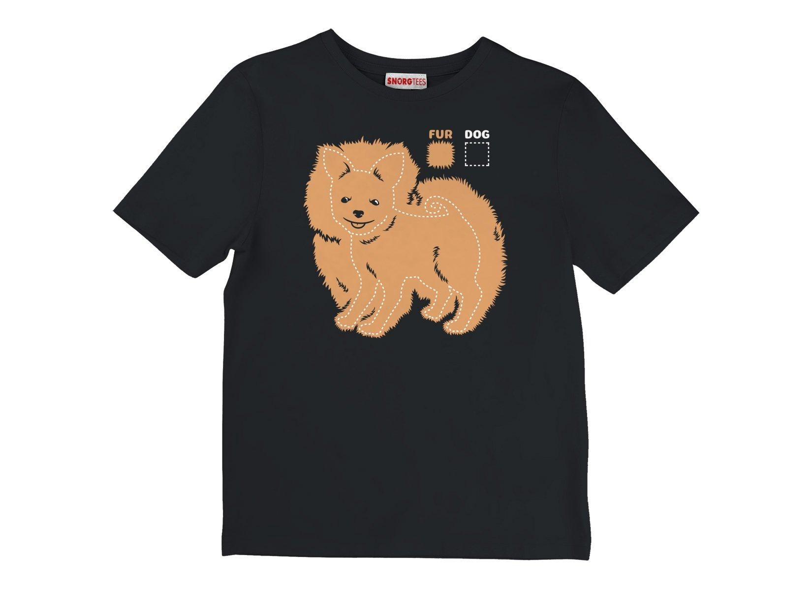 Dog vs Fur Pomeranian on Kids T-Shirt